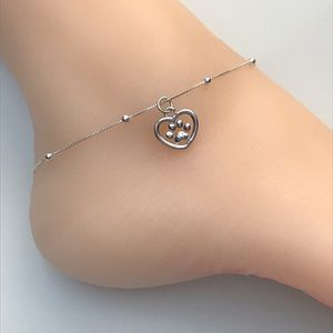 Jewelry - Sterling Silver Paw Anklet
